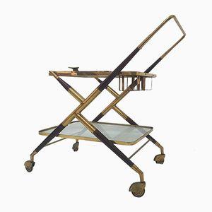 Chariot à Boissons Mid-Century par Cesare Lacca
