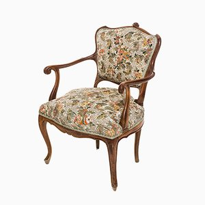 Antique Armchair with Floral Pattern Mosaic by Yukiko Nagai, 2013