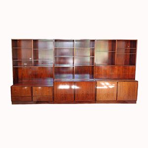 Vintage Rosewood Bookcase by Gunni Omann for Omann Jun