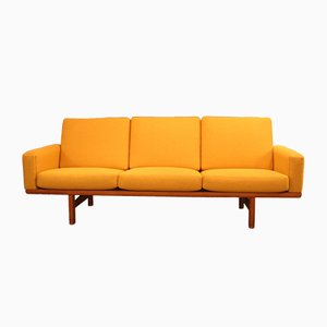 Vintage GE 236 Three-Seater Sofa by Hans J. Wegner for Getama