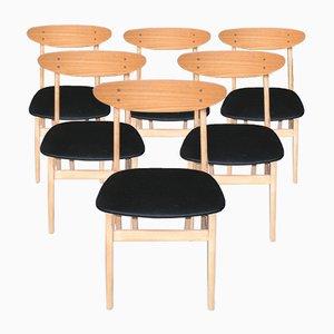 Vintage Modell 210 Stühle von Farstrup Møbler, 6er Set