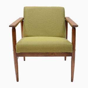 Olivgrüner Vintage Sessel von TON
