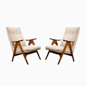 Niederländische Mid-Century Sessel von Louis van Teeffelen für Webe, 1960er