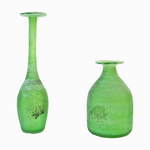 Scavo Vases by Gino Cenedese for Cenedese, 1960s, Set of 2