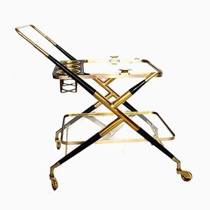 Vintage Serving Trolley by Casare Lacca, 1950s
