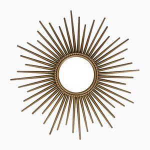 Sunburst Sputnik Mirror from Chaty Vallauris, 1950s