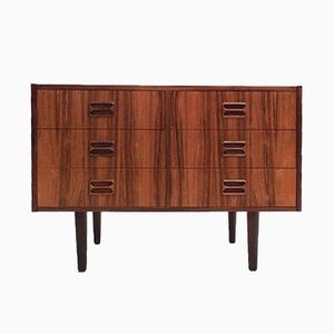 Mid-Century Danish Rosewood Chest of Drawers with Dovetail Joints, 1960s