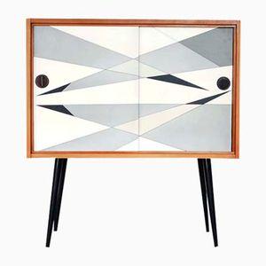 Deutscher Schrank mit Geometrischem Muster von Südthüringer Möbelwerke, 1960er