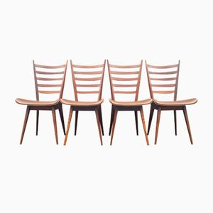Mid-Century Esszimmerstühle von Cees Braakman für UMS Pastoe, 4er Set