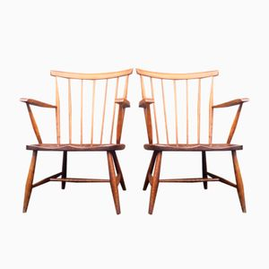 Mid-Century Chairs from Nesto, Set of 2