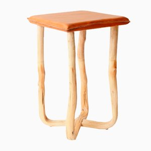 Pressed Wood Natural Stool from Johannes Hemann