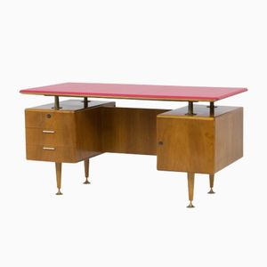 Floating Top Desk by A. A. Patijn for Poly-Z, 1960s