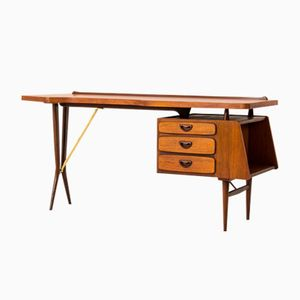 Mid-Century Desk by Louis Van Teeffelen for Webe, 1959