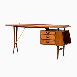 Mid-Century Schreibtisch von Louis Van Teeffelen für Webe, 1959