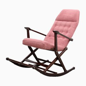 Mid-Century Agnosine Rocking Chair from Fratelli Reguitti