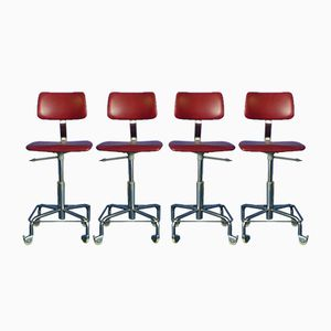 Bürostühle, 1960er, 4er Set