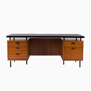 Großer Schreibtisch von Jacques Hitier für Charron, 1950er