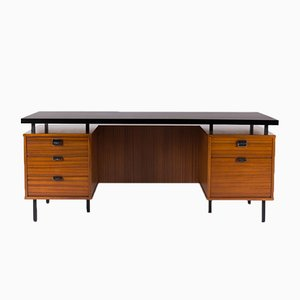Large Desk by Jacques Hitier for Charron, 1950s