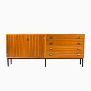 Ash Sideboard with 4 Drawers and 2 Doors by Jacqueline Lecoq and Antoine Philippon, 1960s