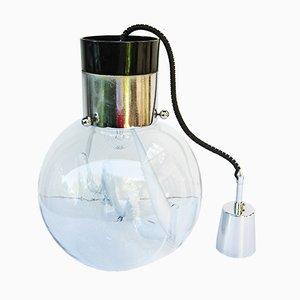 Lampe à Suspension en Verre de Murano par Toni Zuccheri pour Venini, 1966