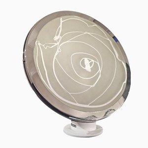 Stufa Glass Table Lamp by Angelo Brotto for Esperia, 1970