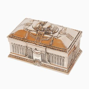 Vintage French Neo-Classical Jewelry Box