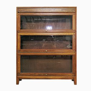 Vintage English Bookcase, 1930s