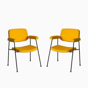 CM 197 Armchairs by Pierre Paulin for Thonet, 1958