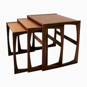 Vintage Quadrille Nesting Tables from G-Plan, 1960s