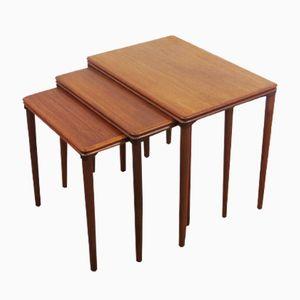 Tables Gigognes Vintage, Danemark, 1960s