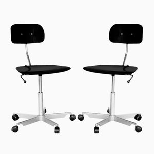 Kevi Desk Chair by Ib and Jørgen Rasmussen for Fritz Hansen, Set of 2