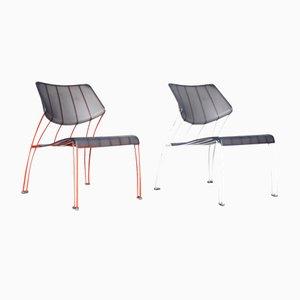 Vintage Hasslo Stühle von Monika Mulder für IKEA, 2er Set