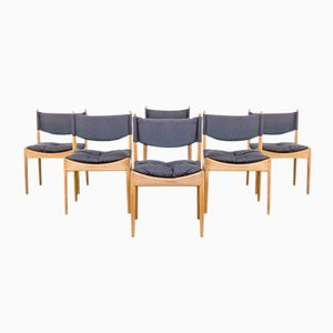 Mid-Century Dining Chairs by Kristian Solmer Vedel for Soren Willadsen, 1960s, Set of 6