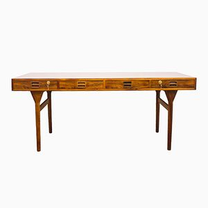 Mid-Century Danish Rosewood Desk by Nanna Ditzel for Søren Willadsen