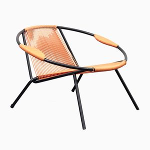 Two-Colored Spaghetti Garden Chair, 1950s