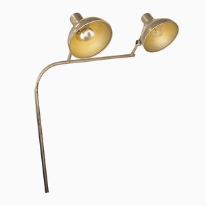 GS1 Industrial Modernist French Adjustable Double Desk Lamp from Jumo