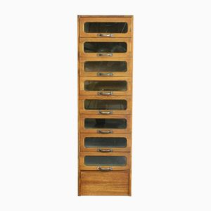 Mid-Century Single Column Haberdashery Cabinet