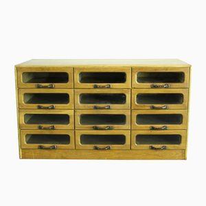Vintage 12 Drawer Haberdashery Cabinet