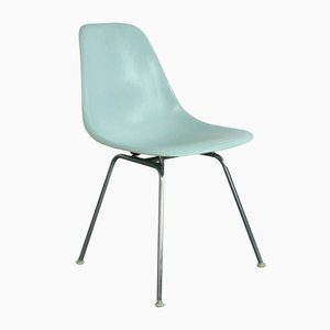 Vintage Duck Egg Blue DSX Side Chair by Charles & Ray Eames for Herman Miller