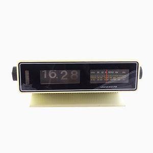 Uhr mit Eingebautem Radio von Universum, 1970er