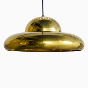 Brass Fior di Loto Pendant Lamp by Afra and Tobia Scarpa for Flos, 1961