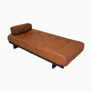 Vintage DS 80 Daybed in Aniline Leather from de Sede, 1960s