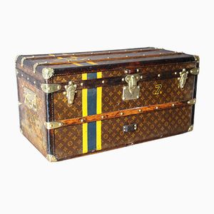 Vintage Small Monogrammed Steamer Trunk from Louis Vuitton