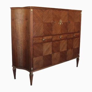 Italian Rosewood Cabinet, 1950s