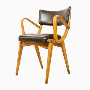 Chaise de Bureau Vintage en Contre-plaqué Courbé de Ben Chairs