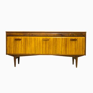 Vintage Teak and Zebrano Sideboard by Richard Hornby