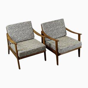 Danish Armchairs, 1950s, Set of 2