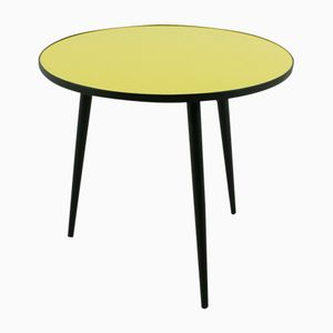 Yellow & Black Coffee Table, 1950s