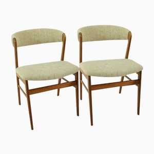 Danish Teak Chairs, 1960s, Set of 2