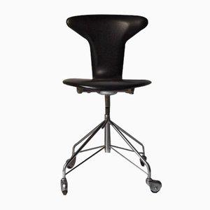 Chaise de Bureau Mosquito Mid-Century par Arne Jacbosen pour Fritz Hansen